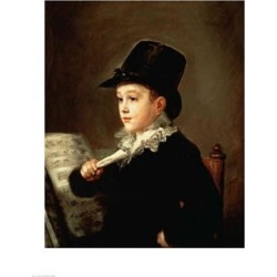 Posterazzi BALXIR52604LARGE Portrait of Marianito Goya Grandson of The Artist C.1815 Poster Print by Francisco De Goya - 24 x 36 in. - Large