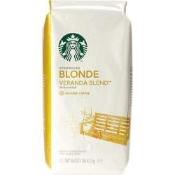 Starbucks 11019631 Premium Blonde Roast Ground Coffee