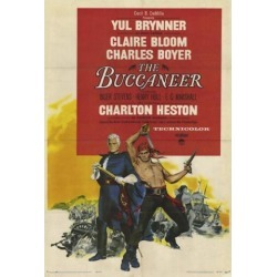 The Buccaneer Movie Poster (27 x 40)