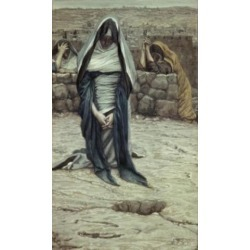 Posterazzi SAL9999350 The Blessed Virgin in Old Age James Tissot 1836-1902 French Poster Print - 18 x 24 in.