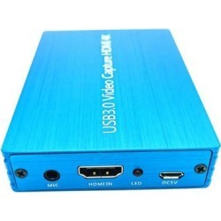 4K HDMI to USB 3.0 Video Capture Card Dongle 1080P 60fps HD Video Recorder Computer Components Hardware HDMI Video Capture Card