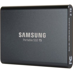 SAMSUNG T5 2TB 2.50' USB 3.1 V-NAND Portable SSD MU-PA2T0B/AM found on Bargain Bro Philippines from Newegg for $349.99