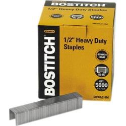 Stanley Bostitch SB351/25M Heavy-Duty Staples, 55- to 85-Sheet Capacity, 5,000/Box