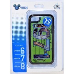 Disney 1971 Magic Kingdom E Ticket 3D Effect Apple Iphone 6S/7/8 Cellphone Case