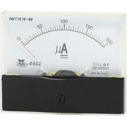 Unique Bargains Analog Panel Ammeter Gauge DC 0 - 200uA Measuring Range 1.5 Accuracy 44C2
