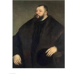 Posterazzi BALXAM70492LARGE Elector Johann Freidrich Ven Sachsen Poster Print by Titian - 24 x 36 in. - Large found on Bargain Bro Philippines from Newegg Canada for $86.13