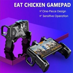 K21 PUBG Mobiele Gamepad Joystick Metalen L1 R1 Trigger Game Shooter Controller for iPhone Android phone Gaming Gamepad