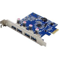 VisionTek 4 Port USB 3.0 x1 PCIe Bus Powered Internal Card Model 900870