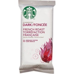 Starbucks 11018194 French Roast Ground Coffee Packets