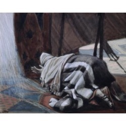 Posterazzi SAL99923 Gods Promise to Abraham James Tissot 1836-1902 French Jewish Museum New York USA Poster Print - 18 x 24 in.