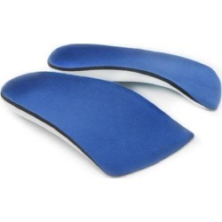 1 Pair 3/4 Length Orthotic Shoe Insole Pads Foot Heel Cushion Pain Relief M