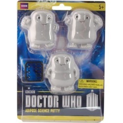 Doctor Who Adipose Putty Pack of 3 Stress Toy