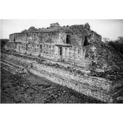 Posterazzi SAL25546976 Temple of the Masks Kabah Mayan Mexico Poster Print - 18 x 24 in.