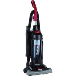 Eureka SC5845B Sanitaire True HEPA Commercial Bagless/Cyclonic Upright Vacuum, Red