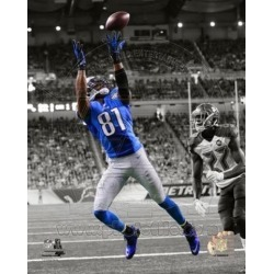 Posterazzi PFSAARO11001 Calvin Johnson 2014 Spotlight Action Sports Photo - 8 x 10 in.