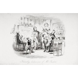 Friendly Behaviour Of Mr. Bucket. Illustration By Phiz 1815-1882. From The Book Bleak House By Charles Dickens. Publishe found on Bargain Bro Philippines from Newegg Canada for $34.63