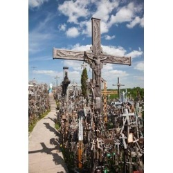 Hill of Crosses, Siauliai, Central Lithuania, Lithuania II Poster Print by Walter Bibikow (23 x 35)