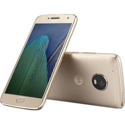 Open Box - Moto G5 Plus XT1687 64GB Smartphone (Unlocked, Fine Gold) - US Warranty