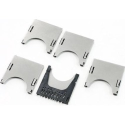 Global Bargains 5 Pieces SD Memory Card Sockets Slots for Camera MP3
