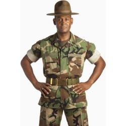 Posterazzi DPI1870650 A Military Man Poster Print, 12 x 19