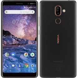 Nokia 7 Plus 64GB Android (GSM Only No CDMA) Factory Unlocked 4G/LTE Smartphone - Black