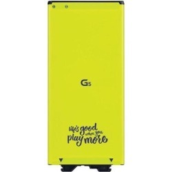 LG G5 Smartphone Cell Phone Battery 3.85V Li-ion 2800mAh 10.8wh BL-42D1F - Yellow