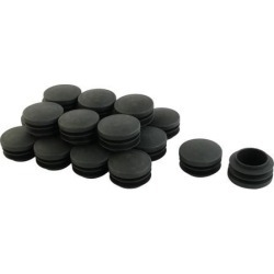 Unique Bargains 20 Pcs Antislip Plastic Round 35mm Dia Chair Foot Cover Table Furniture Leg Protector Black found on Bargain Bro India from Newegg Canada for $10.65