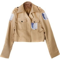 Attack On Titan Feathers Of Liberty Jacket Legion Cosplay Costume Size S