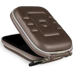 SumacLife Eva Compact Digital Camera Travel Carrying Case with Carabiner Key Chain (Gun Metal)