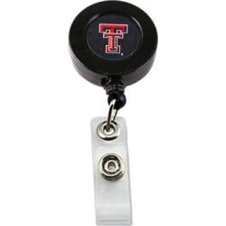 NCAA Texas Tech Raiders Team Logo Retractable Badge Reel Id Ticket Clip Holder
