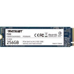 Patriot P300 M.2 2280 256GB PCIe Gen3 x4, NVMe 1.3 Internal Solid State Drive (SSD) P300P256GM28US found on Bargain Bro Philippines from Newegg for $49.99