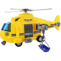 1/16 Multi-function Simulation Helicopter Toy Model Mini Aircraft Toy Yellow