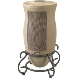 LASKO 6435 Designer Series Oscillating Ceramic Heater with Remote Control