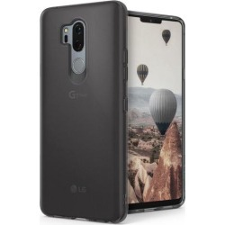 Ringke AIR Case for LG G7 ThinQ [Smoke Black] Full Flexible TPU Body Cover Lightweight Scratch Resistant Protection for LG G7 2018