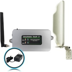 Smoothtalker Stealth Z1 70dB Building Booster Kit with Directional Outside Antenna - BBCZ170GBD