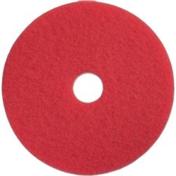 Impact Products 904012 Open Web Floor Pad - 12' Diameter - 5/Carton x 12' Diameter - Fiber - Red found on Bargain Bro Philippines from Newegg for $15.25