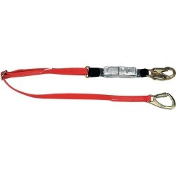 6 ft.L 310 lb. Weight Capacity Red Shock Absorbing Lanyard MSA 10047084 found on Bargain Bro India from Newegg Canada for $101.98