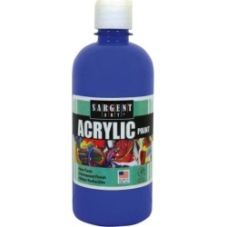 SARGENT ART 16Oz Acrylic Paint - Blue 242450