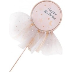 Happy Birthday Dream Catcher Cake Topper Wedding Party Birthday Decor B