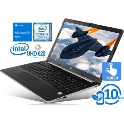 HP 15 Notebook, 15.6' HD Touch Display, Intel Core i5-8250U Upto 3.4GHz, 16GB RAM, 2TB NVMe SSD, HDMI, Card Reader, Wi-Fi, Bluetooth, Windows 10 Home