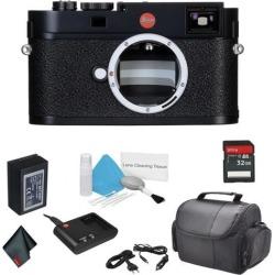 Leica M (Typ 262) Digital Rangefinder Compact 24MP Camera Body Bundle with 32GB Memory Card