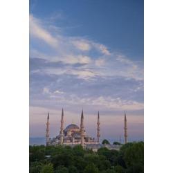 Posterazzi DPI1892952 Blue Mosque Poster Print, 12 x 19