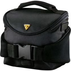 Topeak Compact Handlebar Bag/Fanny Pack with Fixer 8: Black