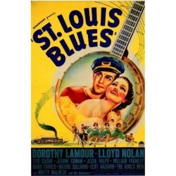 Posterazzi MOVIF2346 St. Louis Blues Movie Poster - 27 x 40 in.