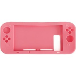 Indigo7 Authorized Nintendo Switch Silicone Console Case Grip Protector Cover - Pink