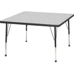 Mahar Manufacturing N36SQBK-SB Square Activity Table with Grey Nebula Top and Black Edge, 36 in. found on Bargain Bro India from Newegg Canada for $351.89