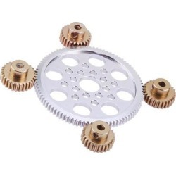 Motor Pinion 20T Gear Metal RC Parts Toys for 1/10 RC Drift Car Accessory