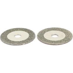 16mm Diamond Grinding Wheel Cutting Disc 2pcs for Glass Jade