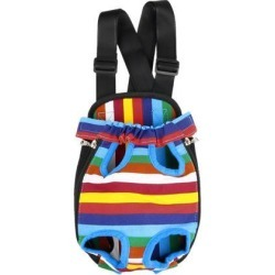 Travel Canvas Legs Out Dog Cat Pet Carrier Bag Case Backpack Totes Colorful 38.5 x 23cm found on Bargain Bro India from Newegg Canada for $16.84