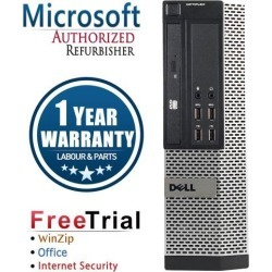 Recertified - Refurbished Dell Optiplex 9010 USFF Intel Core I3 3220 3.3G / 4G DDR3 / 500G / DVD / Windows 10 Professional 64 Bits / 1 Year Warranty found on Bargain Bro Philippines from Newegg for $181.99